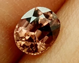 0.85Crt Imperial Zircon  Best Grade Gemstones JI 23