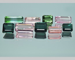 16.30 Cts Beautiful Fantastic Natural Fancy Color Tourmaline