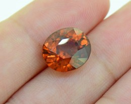 "HESSONITE GARNET (Untreated) from Sri Lanka ""Ceylon"" 6.32 Ct. (01"