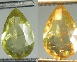 1.44ct Color chancind Diaspore (Zultanit) , 100% Natural Gemstone