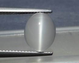 "3.38 ct ""IGI Certified"" Rare Gem Oval Cut Natural Moonstone Cat's"