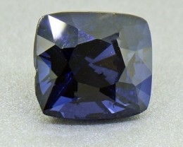 Cobalt Blue Spinel 3.39 Ct. Untreated RARE Round (BIG Face) (00611)