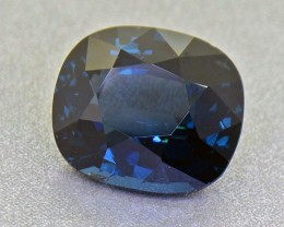 Cobalt Blue Spinel 4.64 Ct. Untreated RARE Round (BIG Face) (00607)