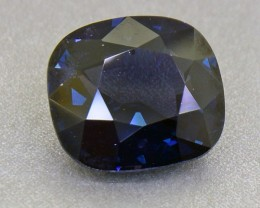 Cobalt Blue Spinel 4.67 Ct. Untreated RARE Round (BIG Face) (00606)