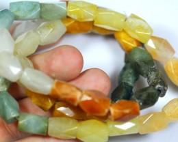 356.0Ct Natural Grade A Mixed Color Jadeite Jade Necklace