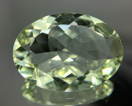 8.75 Crt Prasiolite Green Amethyst Faceted Gemstone (R 168)