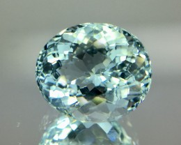 1.85 Crt Aquamarine Faceted Gemstone (R 168)