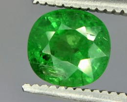 1.60 Crt Tsavorite Green Garnet Faceted Gemstone (R 168)
