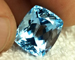13.92 Carat Vibrant Blue Brailian VVS Topaz - Gorgeous