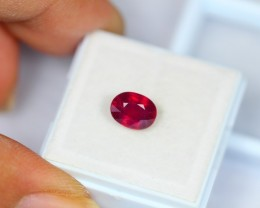 2.28Ct Natural Ruby Oval Cut Lot V1182