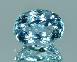 4.70 Cts Beautiful Sparkling Lustrous Natural African Aquamarine