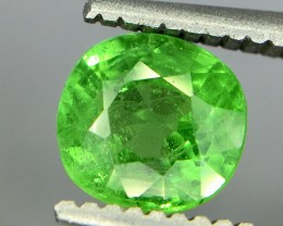 0.85 Crt Tsavorite Faceted Gemstone