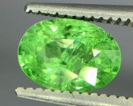 1.35 Crt Tsavorite Faceted Gemstone