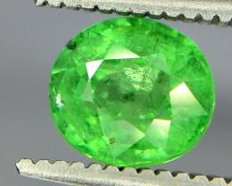 1.25 Crt Tsavorite Faceted Gemstone