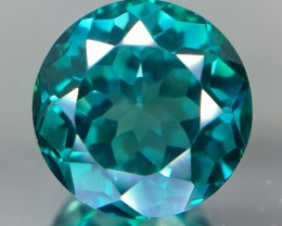 5.30 Crt Green Topaz Faceted Gemstone