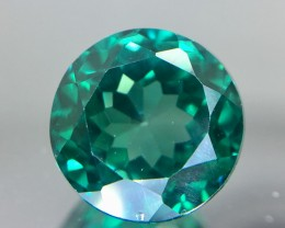 4.95 Crt Green Topaz Faceted Gemstone