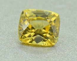 N/R Yellow Zircon Natural Unheated from Sri Lanka (01191)