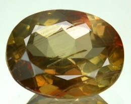 1.94 Cts Natural Double Shade Color Andalusite Oval Cut Brazil Gem