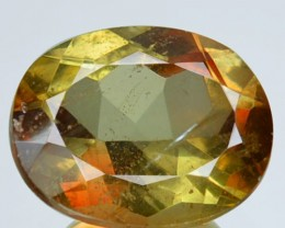 2.17 Cts Natural Double Shade Color Andalusite Oval Cut Brazil Gem