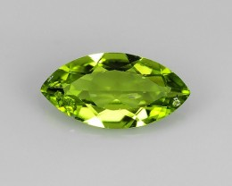 2.70 Cts.Magnificient Top Sparkling Intense Green Peridot