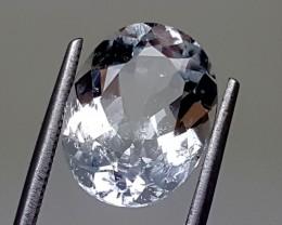 5.40 CTS  AQUAMARINE Best Grade Gemstones JI 24
