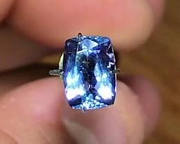 1.70 cts AAA Tanzanite ~ Top Royal Blue ~D16