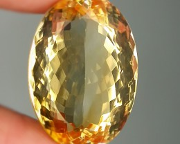 21.10ct Stunning Citrine Oval Faceted Gem VVS Jewelry grade No reserve