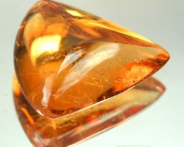 3.38 Cts Natural Orange Tourmaline Cabochon Mozambique