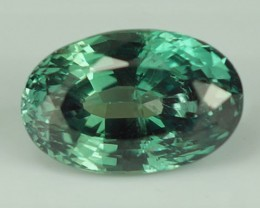 1.87 CT GIA CERTIFIED BEAUTIFUL BLUISH GREEN OVAL SHAPE NATURAL ALEXANDRITE