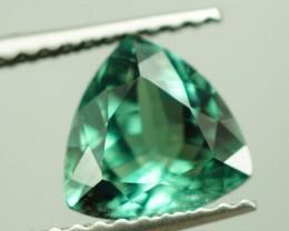 1.44 CT NATURAL BLUISH GREEN ALEXANDRITE GIA CERTIFIED