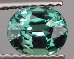 0.95 ct NATURAL BLUISH GREEN ALEXANDRITE TOP QUALITY COLOR CHANGE