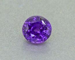 "Unheated Sapphire  ""Indigo"" 1.24 Ct. from Sri Lanka (01250)"