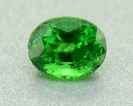 Natural Tsavorite Garnet .56 Ct.  Vivid Green (01223)