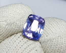 UNHEATED CERTIFIED 1.78 CTS NATURAL BEAUTIFUL VIOLET SAPPHIRE SRI LANKA