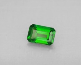 Certified Chrome Diopside ~ VVS ~  1.27cts ~  A Rare Beauty From Russia
