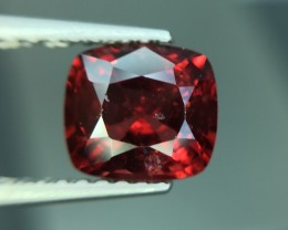 1.29 Cts Red Spinel Excellent Color Cut ~ Burma Pk5