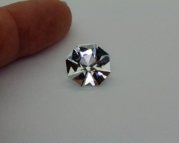 7.75Ct TOPAZ ( Killiercrankie Diamond ) Specialty Cut stone