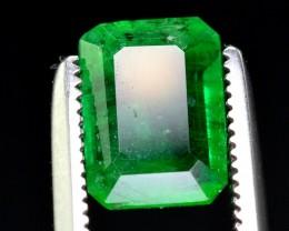 1.55 Ct Top Grade Natural Vivid Green Emerald ~ Swat