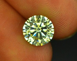 Gil Certified 1.58  ct I1 Clarity Natural Diamond