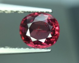 1.15 Cts Natural Cherry Red Garnet Awesome Color ~ Africa Pk5