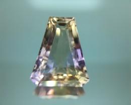 9.49 Cts Bolivian Ametrine Stunning Luster & Cut Gemstone Pk5