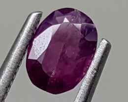 0.65cts unheated sapphire  Best Grade Gemstones JI 25