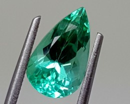2.90 cts green spodunene Best Grade Gemstones JI 25