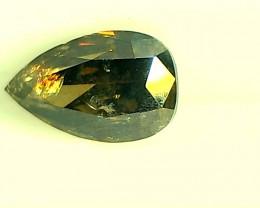 0.37cts Greenish Brown Diamond , 100% Natural Untreated