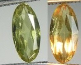 2.56ct Color Changing Diaspore(Zultanit) , Natural untreated Gemstone