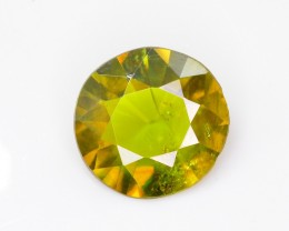 1.25 CT NATURAL SPARKLING DIAMOND CUT COLOR CHANGE GREEN SPHENE