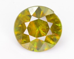 1.40 CT NATURAL SPARKLING DIAMOND CUT COLOR CHANGE GREEN SPHENE