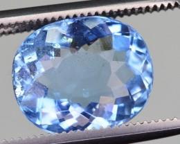 2.70 Ct Top Grade Natural Blue Aquamarine
