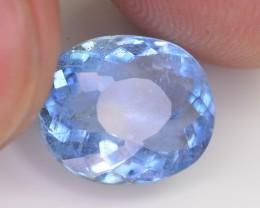 3.10 Ct Brilliant Color Natural Blue Aquamarine