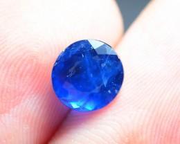 AAA Rarity Afghanite 1.19 ct Fluorescent Deep Ocean Blue Badakhshan Afghani